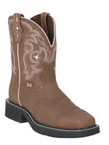 Justin Ladies Square Toe Boot (sz 8B) in Houston, Texas