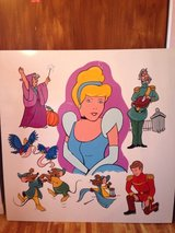 Cinderella painting in Fort Leonard Wood, Missouri