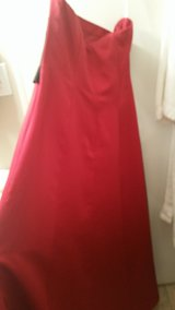 Red and Black Ball Gown in Wilmington, North Carolina