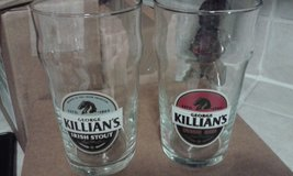 "Brand New ""Killians"" Beer Glasses in Fort Lee, Virginia"