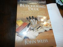 Butchering a Deer By John Weiss in Oswego, Illinois