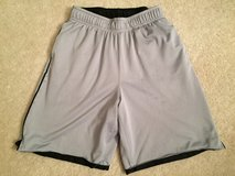 Boys L 12-14 Reversible Grey Shorts in Joliet, Illinois