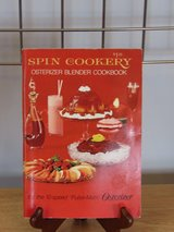 "Cookbook ""Spin Cookery"" Osterizer 1969 in Yorkville, Illinois"