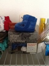 Baby north face booties new in box in Fort Riley, Kansas