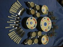 set of dishes for 8 in Alamogordo, New Mexico