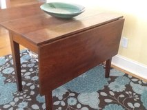 Cherrywood drop leaf dining table in Beaufort, South Carolina