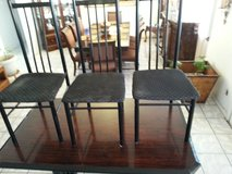 table and 3 chairs in Fort Bliss, Texas
