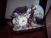 Black Bears Clock/Night light in Alamogordo, New Mexico