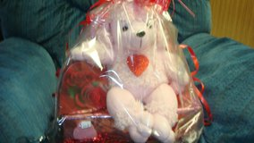 pink pootle love basket in Fort Bliss, Texas