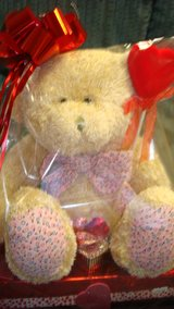 large Love Bear in Fort Bliss, Texas
