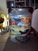 Milk Can Tin-Large-Farm Design in Alamogordo, New Mexico