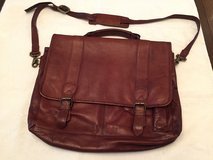Briefcase, Messenger Bag, Leather with Shoulder Strap in Beaufort, South Carolina