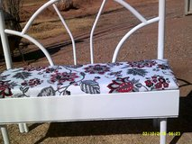 WOOD AND METAL BENCH in Alamogordo, New Mexico