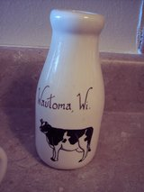 Cow Milk Bottle Vase-Dairy Proud in Alamogordo, New Mexico