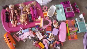 Barbies Bratz Dolls with Accessories in Conroe, Texas
