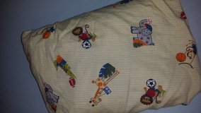 Baby boy nursery bedding and decor in Fort Bliss, Texas