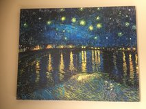 "Large Canvas Reprint of Van Gogh's ""Starry Night Over The Rhone"" in Alamogordo, New Mexico"