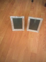 2 Crystal Glass picture frames in Lackland AFB, Texas