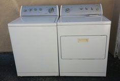 WHIRLPOOL WASHER AND ELECTRIC DRYER SET in Camp Pendleton, California
