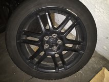 07 Scion tC rims. With tires in Algonquin, Illinois
