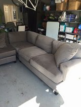 Sectional Couch 8x8 Grey in Camp Pendleton, California