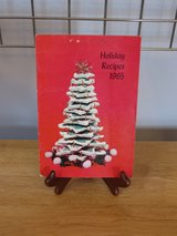"""Vintage Booklet """"Hoilday Recipes 1965"""" in Chicago, Illinois"""