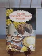 "Cookbook ""Bakers Chocolate and Coconut Favorites"" 1965 in Sandwich, Illinois"