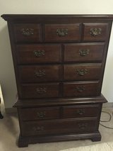 Bedroom Furniture: Tall Chest $100 OBO in Fort Lewis, Washington