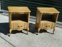 French Provincial Nightstands Set in Kingwood, Texas