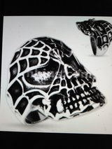 skull spider web ring in Camp Lejeune, North Carolina