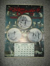 Replica 1901 Calendar in Fort Leonard Wood, Missouri