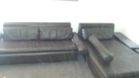 100% Korean leather couch in Fort Lewis, Washington
