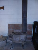 Vintage Wood Stove with Pipes/Stack in Yucca Valley, California