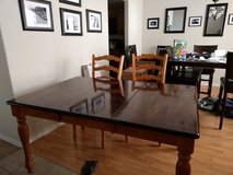Ashley dining room table with 4 chairs in Lackland AFB, Texas