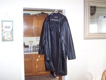 Man's Leather coat full length in Warner Robins, Georgia