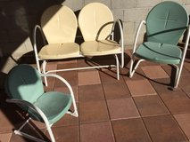 outdoor chairs in Yucca Valley, California