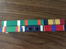 Navy Ribbon Bar Group of 6, Merit. Serv., Commendation, Achievement, Service in Naperville, Illinois