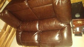 Ashley Leather Loveseat Recliners in Conroe, Texas