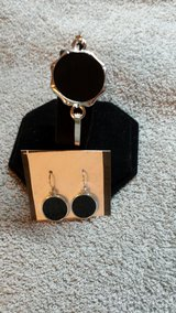 Black earrings and bracelet set in Warner Robins, Georgia