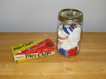 Vintage Poker Chips in Sugar Grove, Illinois