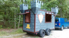 Cotton Candy Castle Trailer in Clarksville, Tennessee
