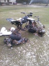 Some parts bikes in Fort Polk, Louisiana
