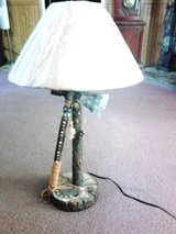 Indian style table lamp in Camp Lejeune, North Carolina