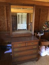 Nice 4 drawer dresser with mirror in Moody AFB, Georgia