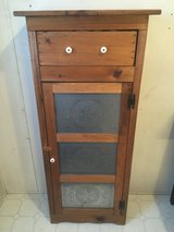 Wood Project Cabinet w/Tin Punch Door in Sandwich, Illinois