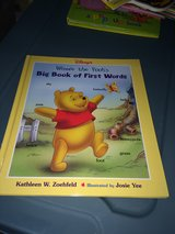 Large first words POOH book in Houston, Texas