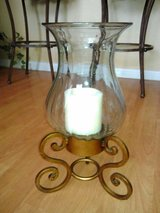 Glass Candle Stand in Lackland AFB, Texas