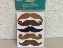 Mustache Magnets in Ramstein, Germany