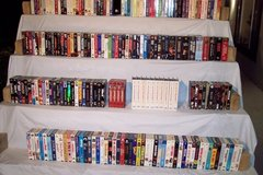 Large Collection of VHS Tapes in Yucca Valley, California