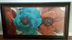 31x56 poppy canvas in The Woodlands, Texas